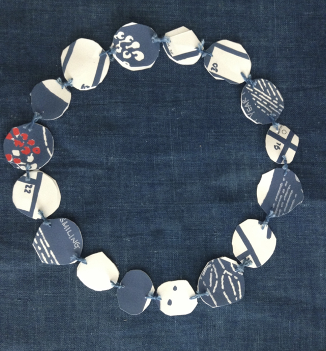 Blue&White circles10